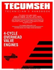 4-CYCLE OVERHEAD VALVE ENGINES - Small Engine Discount