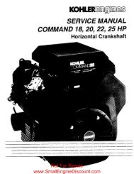 Service Manual Command 18, 20, 22, 25 HP horiz - Small Engine ...