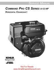 Service Manual Command PRO CS 4-12 HP Horiz