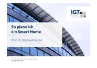 So plane ich ein Smart Home - Smarthome Initiative Deutschland