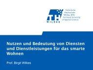 Dienste - SmartHome Initiative Deutschland