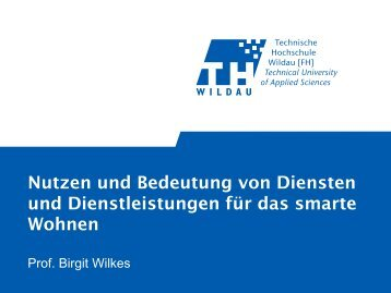 Dienste - SmartHome Initiative Deutschland
