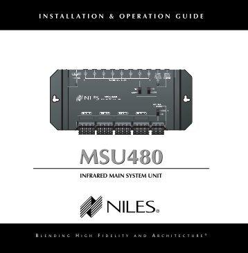 MSU480 MSU480 - Niles Audio