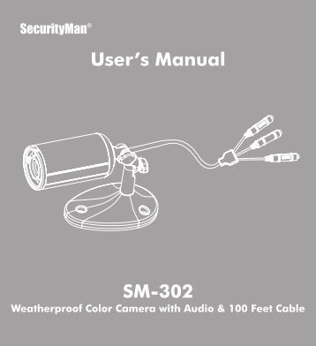 SM-302 User's Manual - Smarthome