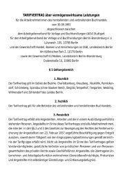 TV VWL Internet - Verband der Verlage und Buchhandlungen Berlin ...