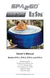Spa2Go Manual - Hot Tubs