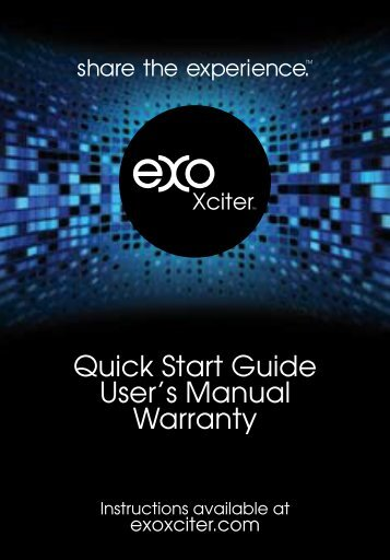 Quick Start Guide User's Manual Warranty - Smarthome