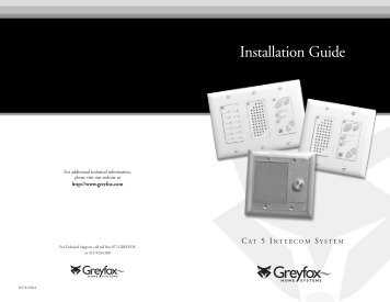 Installation Guide - Smarthome