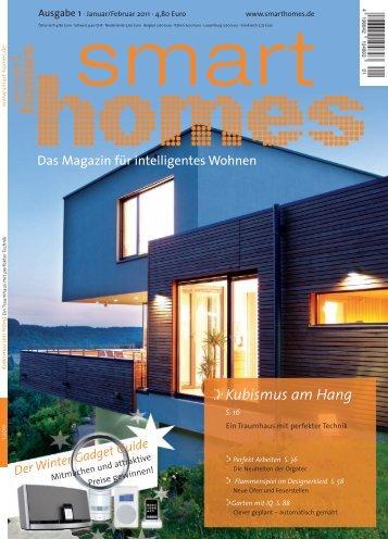 Kubismus am Hang - Smart Homes