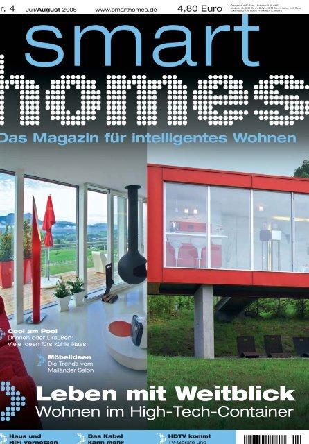 Das Magazin für intelligentes Wohnen - Smart Homes