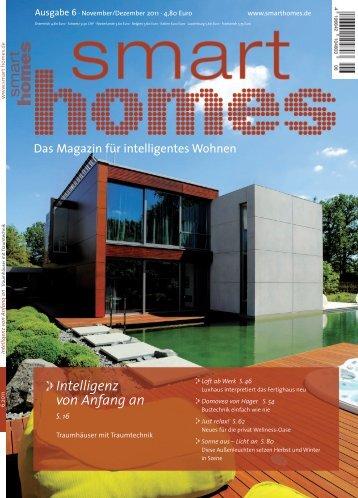 Intelligenz von Anfang an - Smart Homes