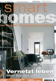 Vernetzt leben - Smart Homes