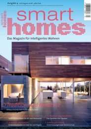 Tradition und Moderne - Smart Homes