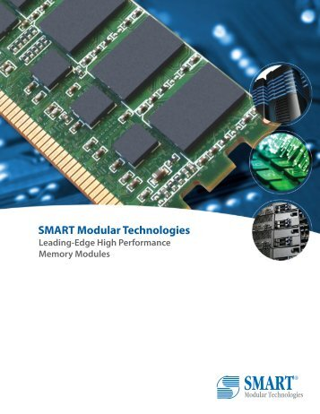 DRAM Product Line Brochure - Smart Modular Technologies, Inc.