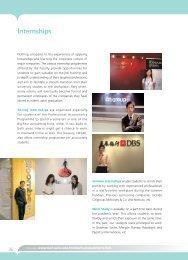 Internships - CUHK Business School
