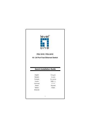 Quick Installation Guide - Smarthome