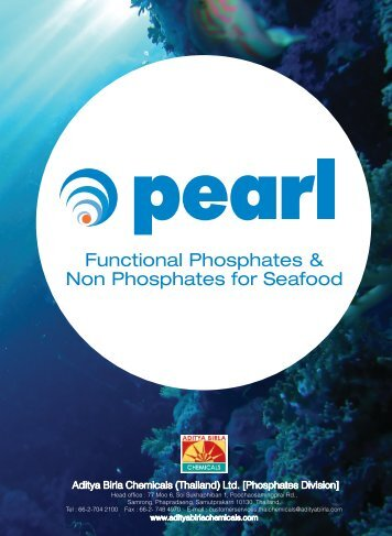 Functional Phosphates & Non Phosphates for Seafood - Aditya Birla ...
