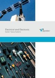 Epotec - electrical and electronic applications - Aditya Birla Chemicals