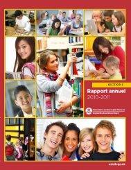 Rapport annuel - English Montreal School Board
