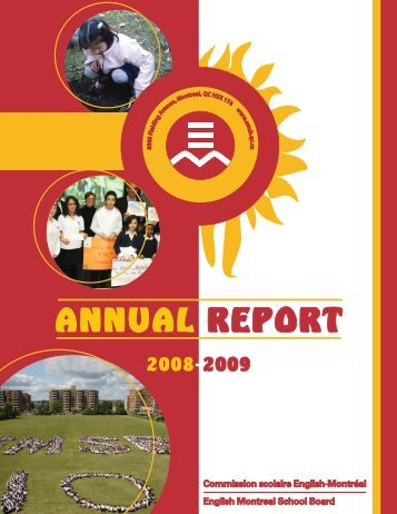 to see the 2008-2009 EMSB annual report - English Montreal ...