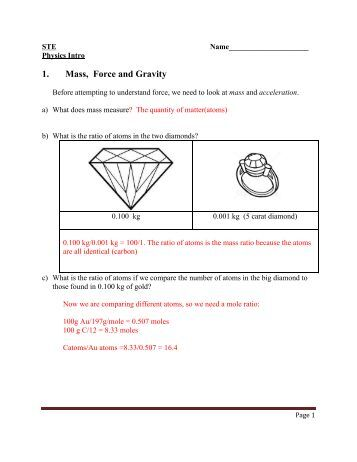 physics 11 worksheet 1 force of gravity 1 find the force of. Black Bedroom Furniture Sets. Home Design Ideas
