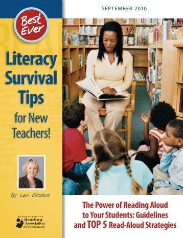 Literacy Survival Tips