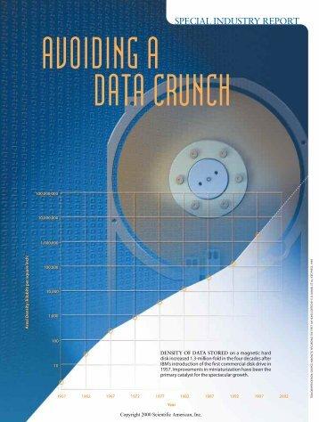 Hard Disk Scientific American Article (PDF)