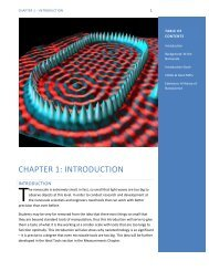 Chapter 1: Introduction to the Nanoscale
