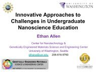 Innovative Approaches to Challenges in Undergraduate ...