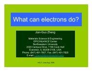 II. Electron microscopy: TEM and SEM (PDF) - NCLT