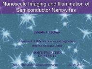 Nanoscale Imaging & Illumination of Semiconductor ... - NCLT