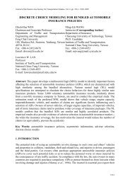 discrete choice modeling for bundled automobile insurance ... - EASTS