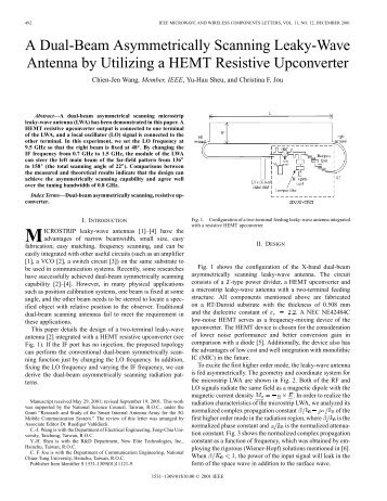 A dual-beam asymmetrically scanning leaky-wave ... - IEEE Xplore