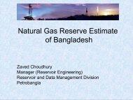 Natural Gas Reserve Estimate of Bangladesh