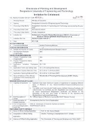 Directorate of Students' Welfare [DSW/09-10 - Bangladesh ...