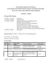 Program Schedule - Bangladesh University of Engineering and ...