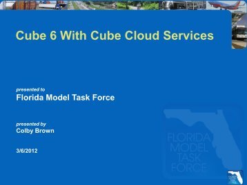 Cube 6 with Cloud Services by Colby Brown - FSUTMSOnline