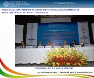 PANEL DISCUSSION :REFORMS NEEDED IN INSTITUTIONAL ...