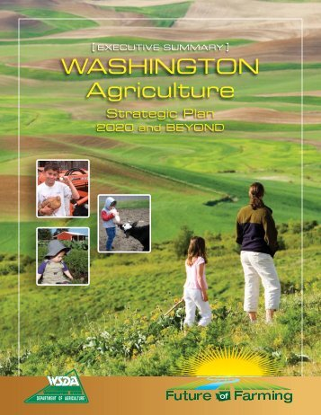 Executive Summary - Washington State Department of Agriculture