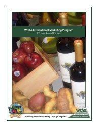 WSDA International Marketing Program - Washington State ...