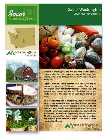 Savor Washington - Washington State Department of Agriculture