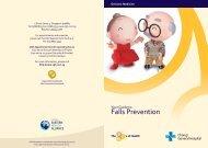 Fall Prevention Brochure - Changi General Hospital