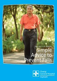 Simple Advice to Prevent Falls - Changi General Hospital