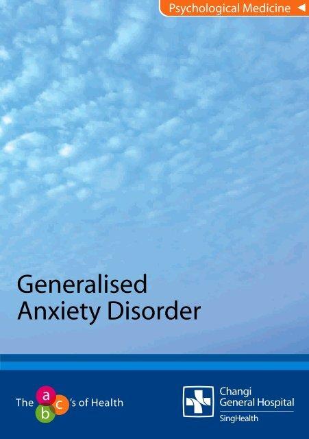 Generalised Anxiety Disorder