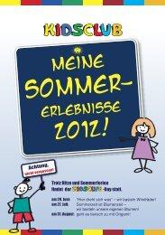 Meine Sommererlebnisse 2012 - Markt-Apotheke