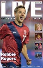 LIVE MAGAZINE VOL 8, ISSUE 187 July 11 thru July 25, 2014