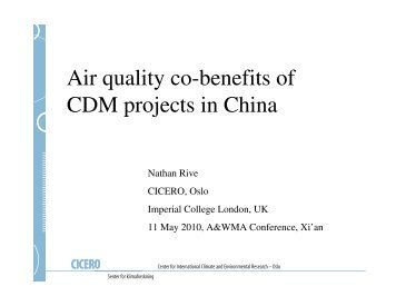 india cdm opportunities and benefits Cdm (clean development mechanism) this is a compliance mechanism which provides an opportunity to reap benefits in monetary terms by implementing ghg reduction methods the cdm allows emission-reduction projects in developing countries to earn certified emission reduction (cer) credits, each equivalent to one tonne of co2.