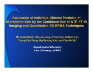 Speciation of Individual Mineral Particles of Micrometer Size by the ...