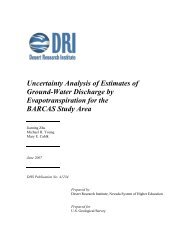 Uncertainty Analysis of Estimates of Ground-Water Discharge by ...