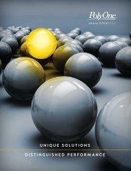 PolyOne 2012 Annual Report